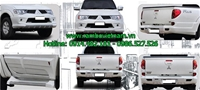 Body kit xe mitsubishi triton