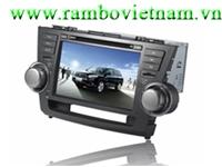Màn hình DVD Toyota Highlander GPS