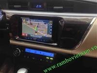 Lắp màn hình pioneer cho toyota altis 2015