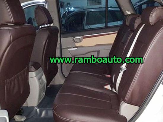 Bọc ghế da công nghiệp Thái Lan xe Hyundai Santafe
