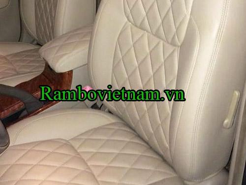 bọc ghế da xe camry