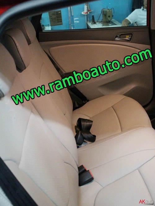 Bọc ghế da xe Hyundai Accent