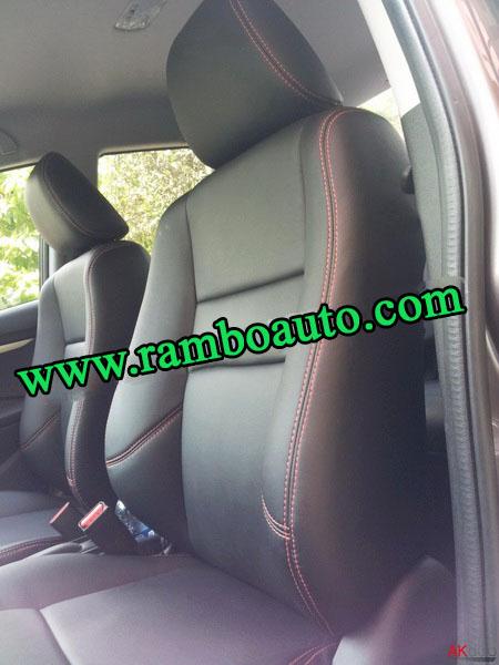 Bọc ghế da công nghiệp cho xe Honda City tại Hà Nội